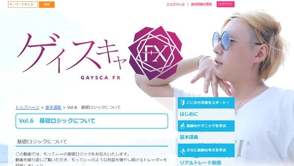 ゲイスキャFX購入者サイト